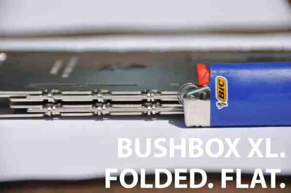 BE Bushbox XL - Outdoor Stove