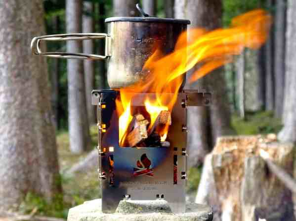 BE Bushbox LF - Outdoors Cooker