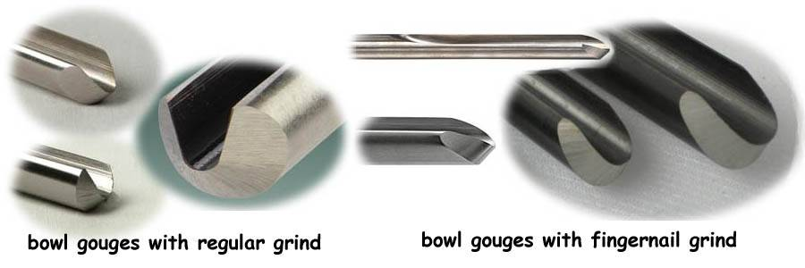 WoodTurning Gouge Sharpening and Grinding An Elsworth or Fingernail Grind for Woodturning Gouges