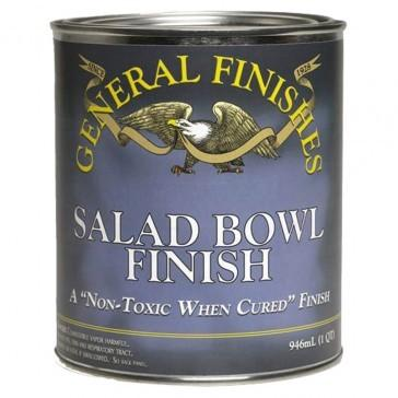 general food safe salad bowl finish