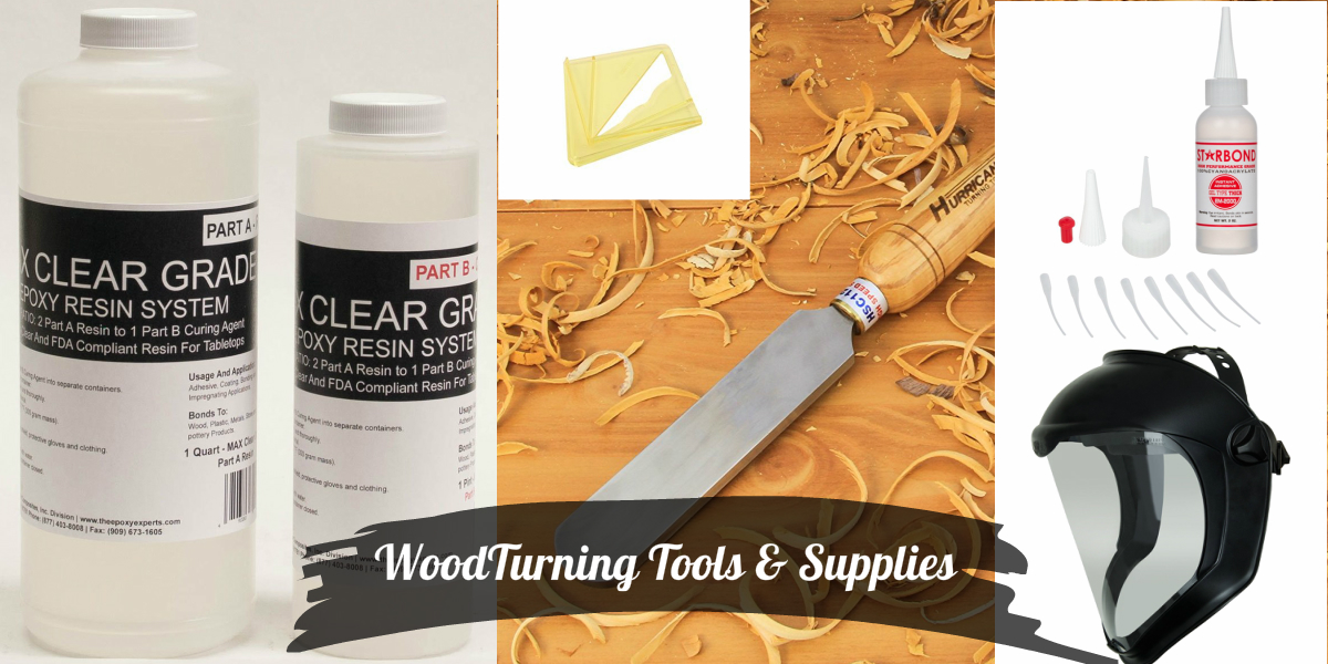 Finally Getting Some Needed Woodturning Tools and Supplies