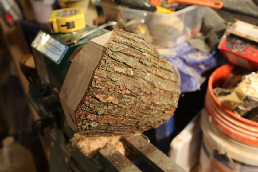 How to turn a natural edge wood bowl