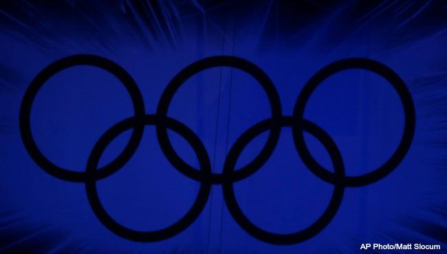 London Olympics rings 2012 AP file 072716_232439