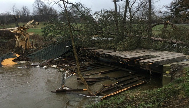 wooden bridge tyler creek damage 041117_319746