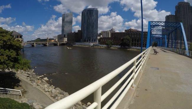 generic grand river generic grand rapids generic blue bridge_115413