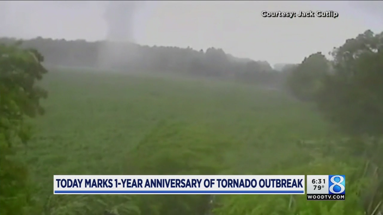 1 year since 6 tornadoes hit West Michigan