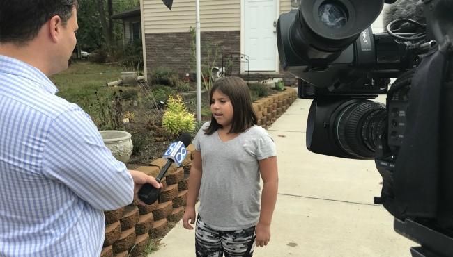 comstock township fire 10-year-old hero 100417_411384