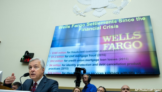 Wells Fargo to pay $1B for mortgage, auto lending abuses