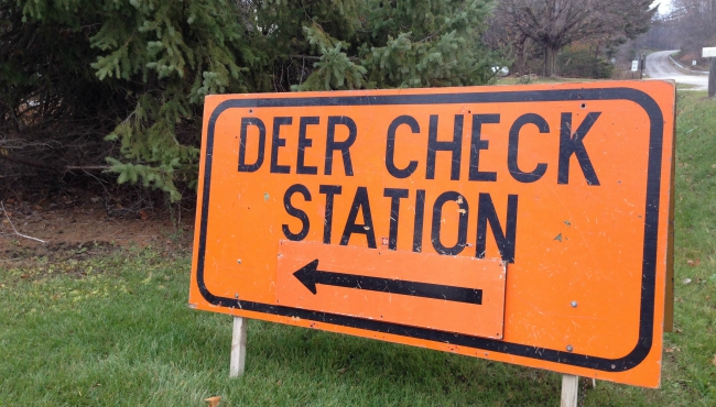 generic deer check station
