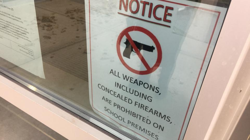 generic school no gun zone