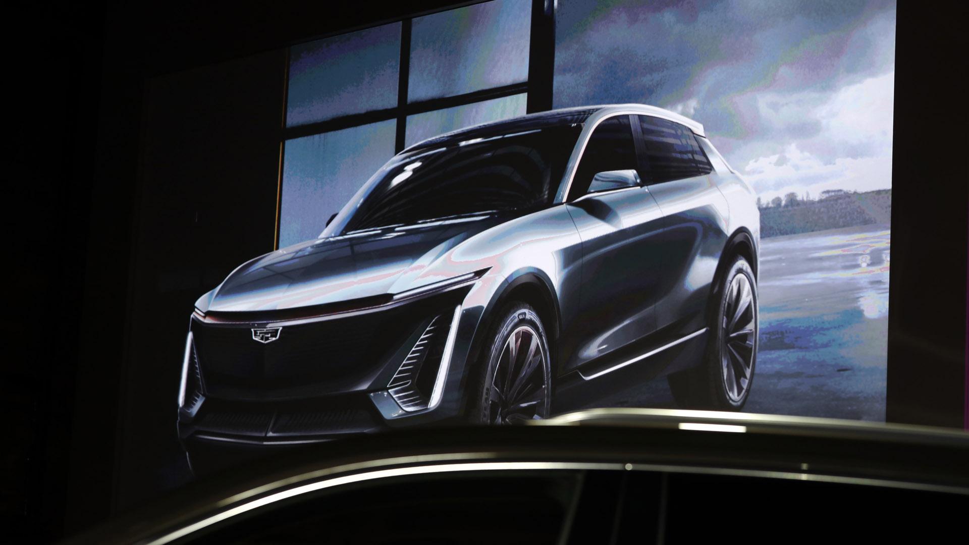 Cadillac electric crossover SUV concept  011419 AP_1547512596298