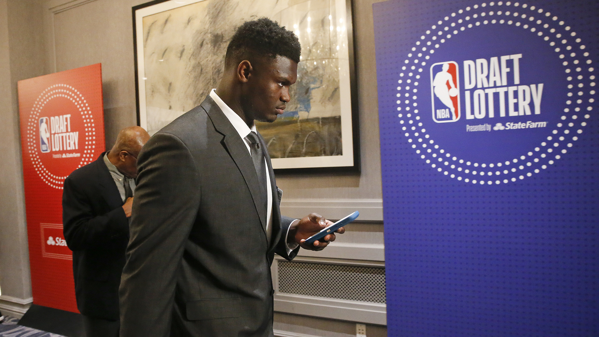 NBA Draft Lottery Zion Williamson 051419 AP_1557883820932