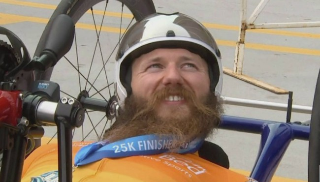 Matthew Chaffee Handcycle 25K winner 051119_1557581802821.jpg.jpg