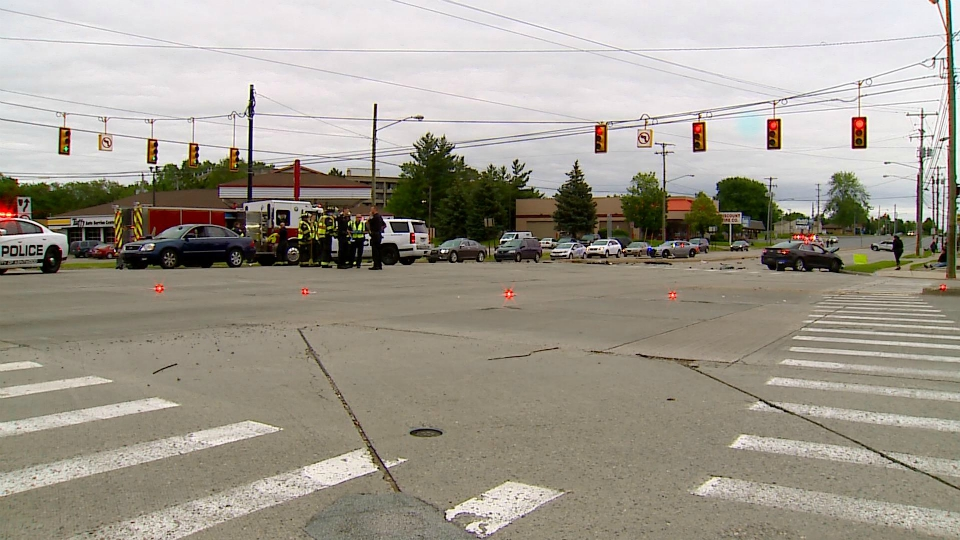44th and Kalamazoo crash scene