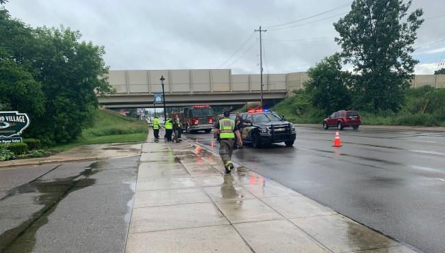 Kent County deputies at wheelchair hit-and-run crash