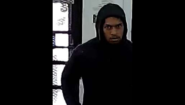 A photo of the suspect in an armed robbery at the 136th Avenue One Stop party store in Holland Township. (June 27, 2019)