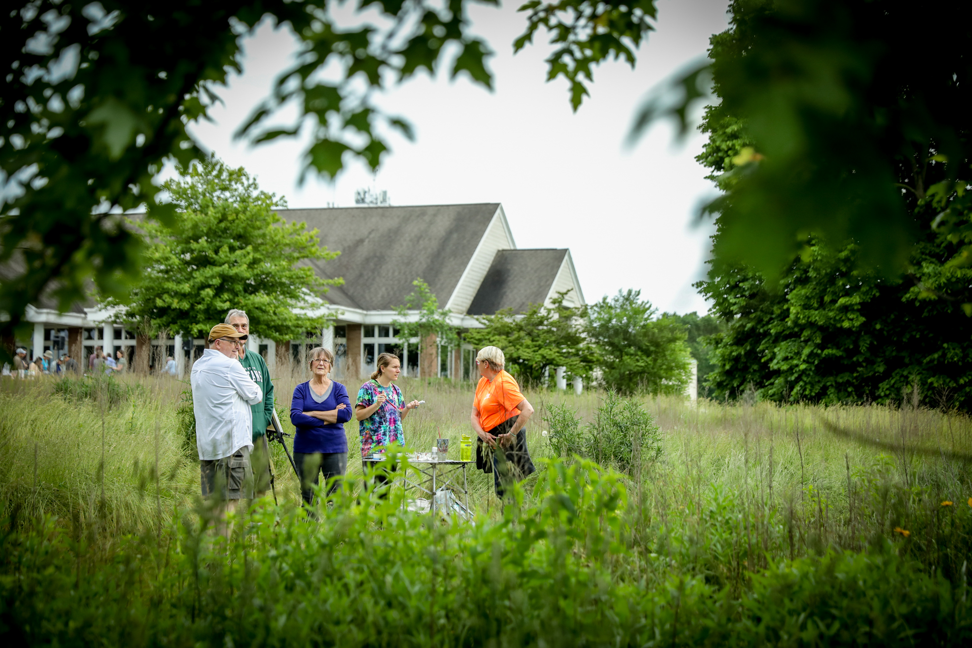 The Land Conservancy of West Michigan has completed phase one of a campaign to transform The Highlands. People celebrated the accomplishment in Grand Rapids on June 20, 2019. (Michael Buck/WOOD TV8)