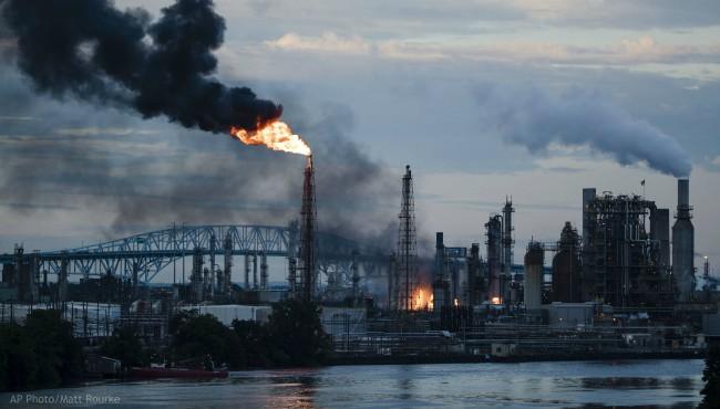 Philadelphia refinery fire AP 062119