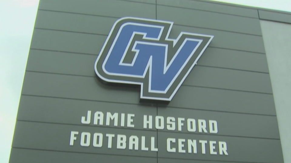 GVSU Jamie Hosford Football Center