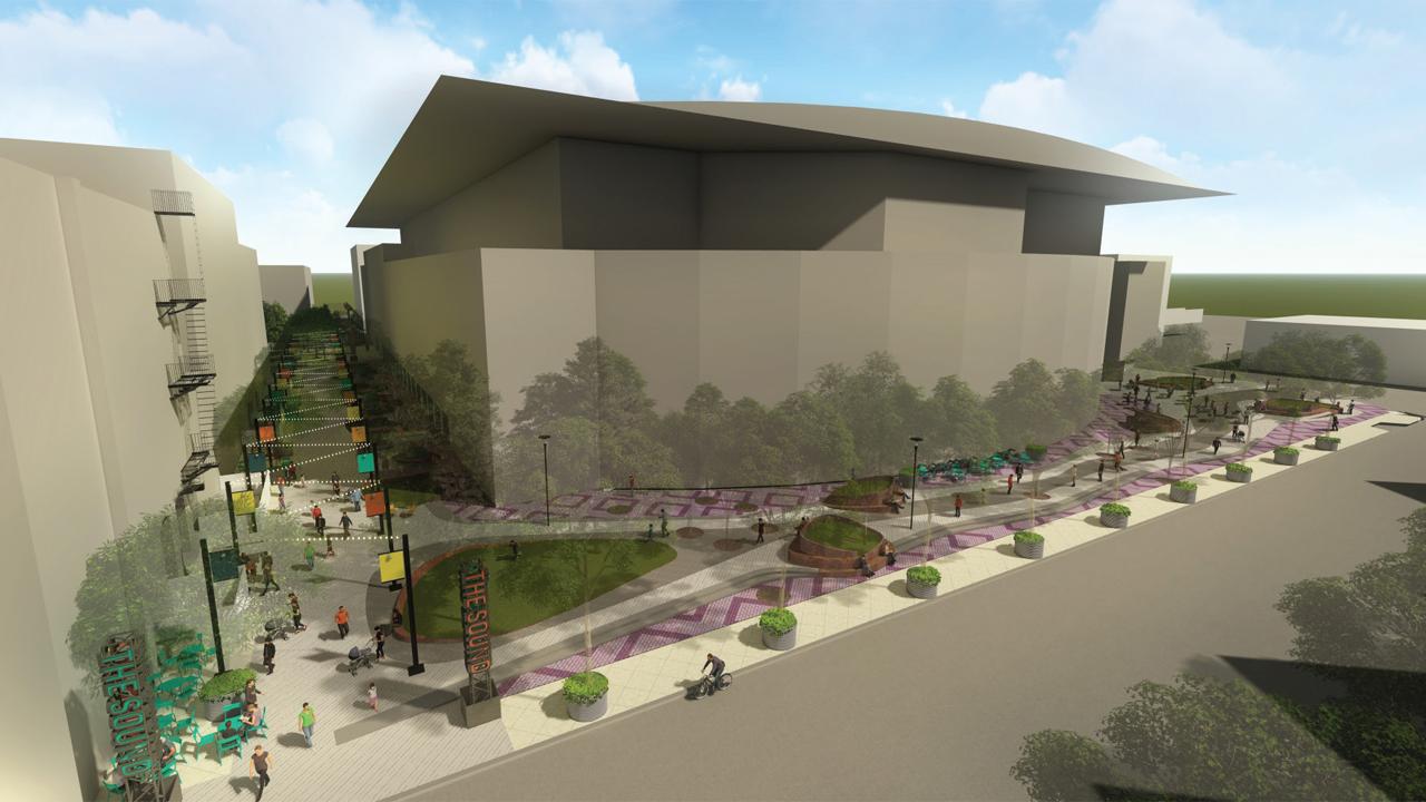 Van Andel Arena redesign rendering