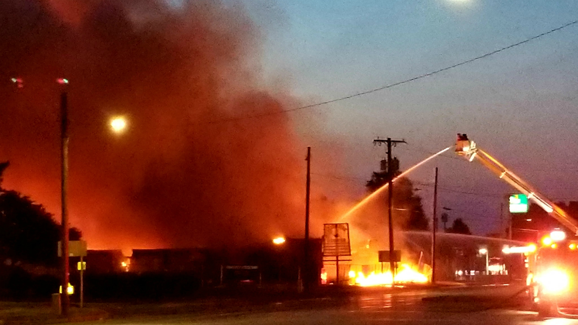 coldwater recreation bowling alley fire