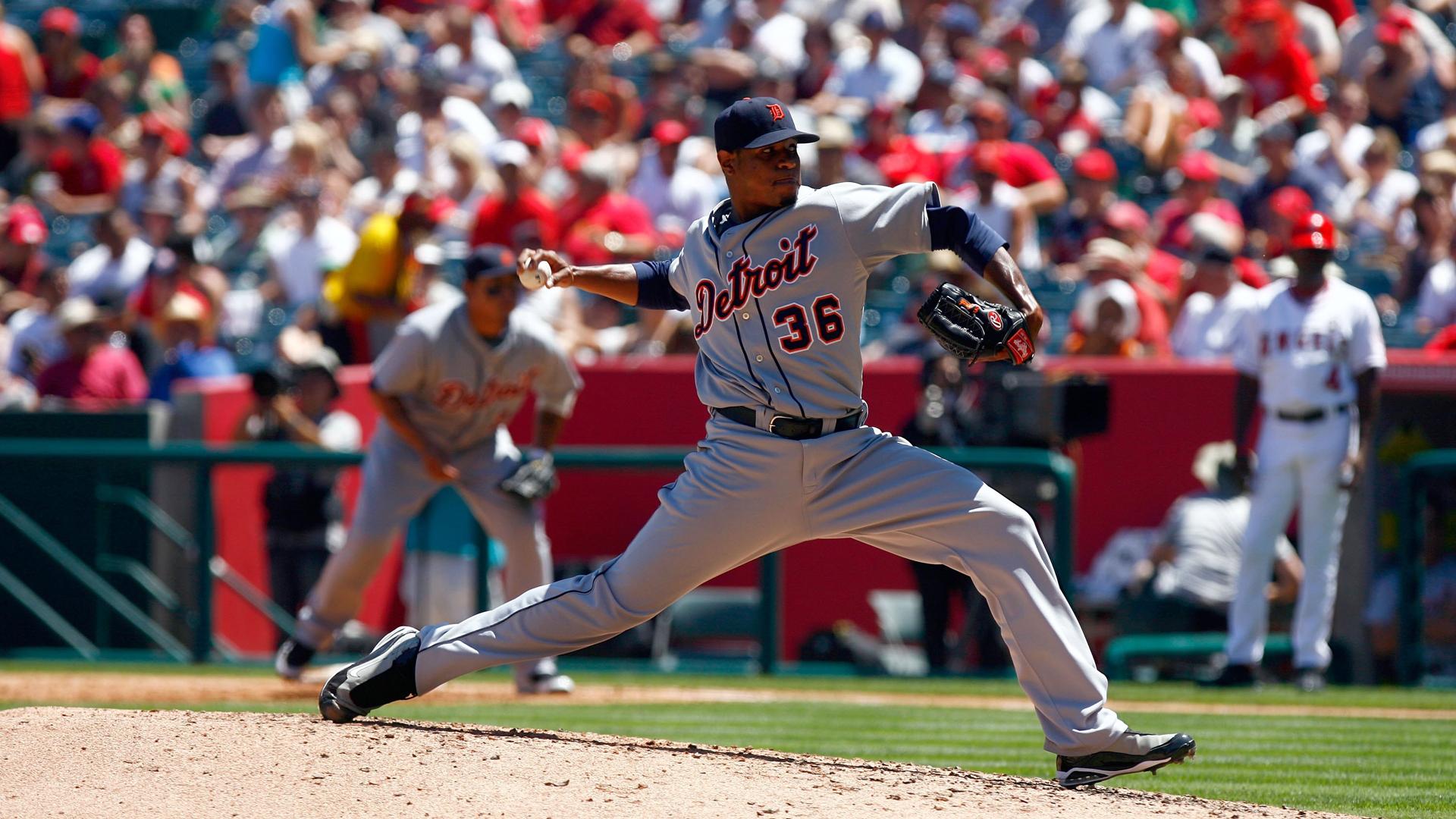 Detroit Tigers Edwin Jackson 2009