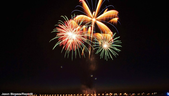 South Haven fireworks 2016