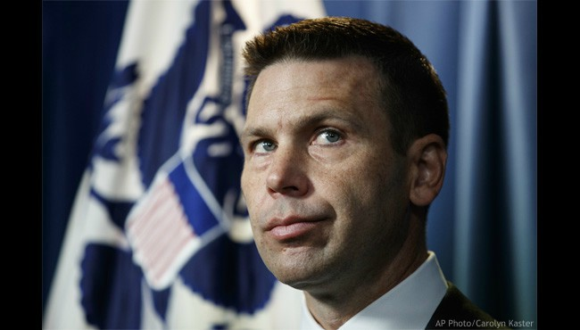 Department of Homeland Security acting Secretary Kevin McAleenan