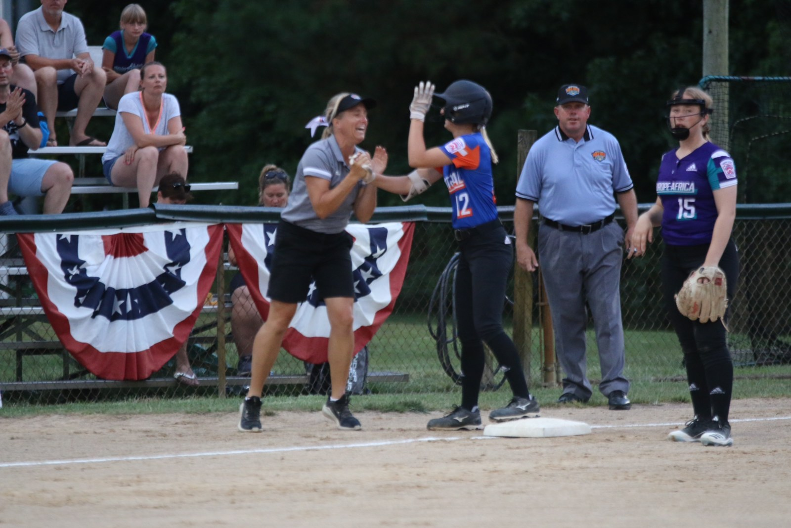 A photo of Lauren Schwallier of the District 9 team. (Courtesy)
