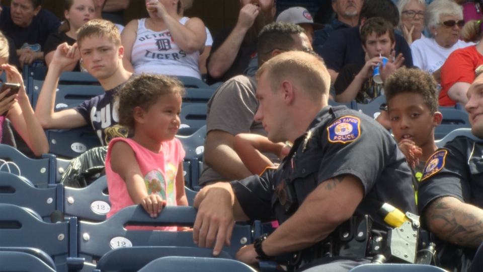 grand rapids cops and kids day out