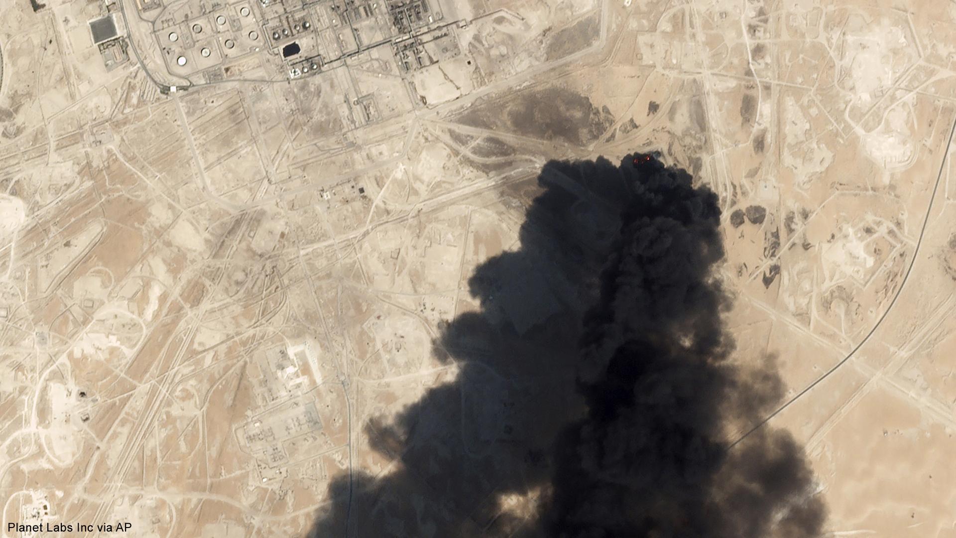 saudi arabia oil attack