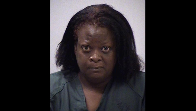 An undated booking photo of Earlisa Johnson. (Courtesy of the Kalamazoo County Sheriff's Office)