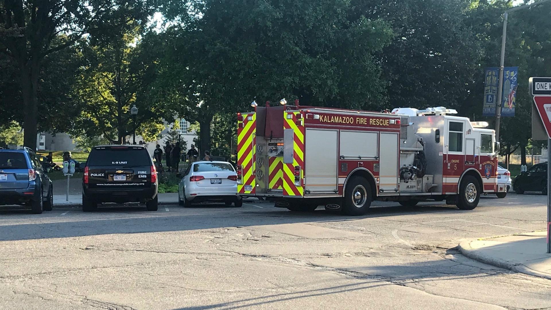 bronson park emergency response