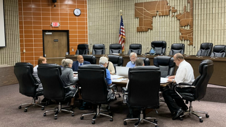 kalamazoo township board work session