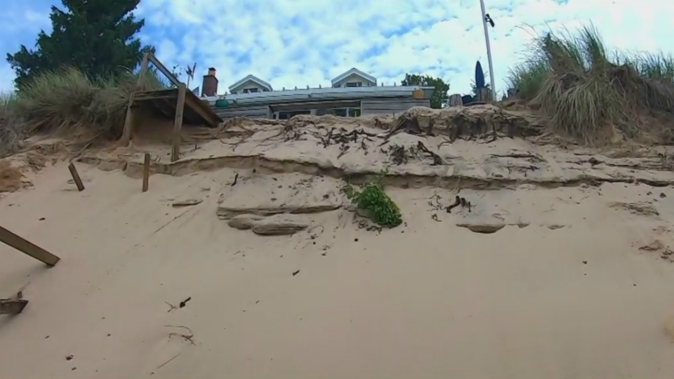 ottawa county lakeshore erosion