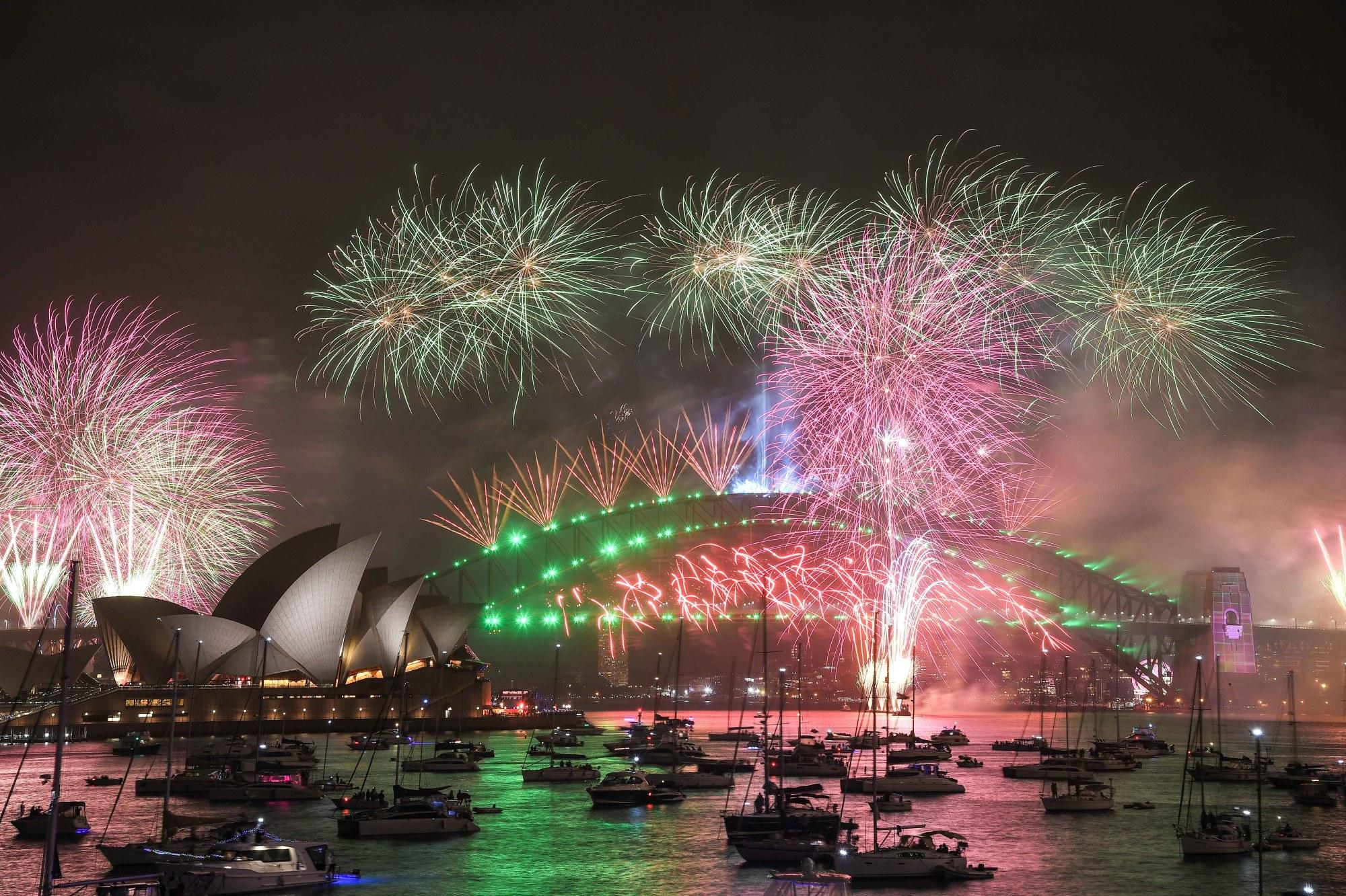 New Year's 2020 celebrations