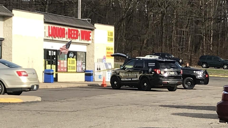 oshtemo township bronco liquor robbery shooting
