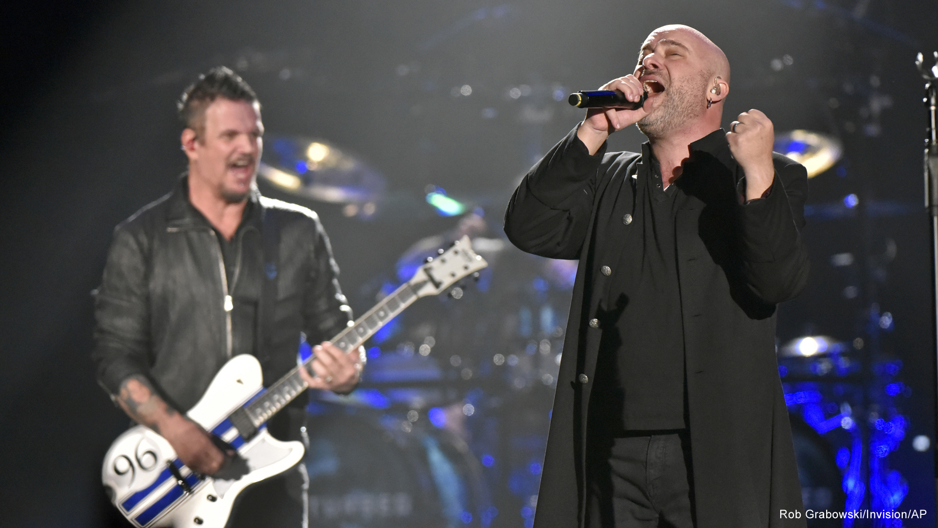 disturbed in concert