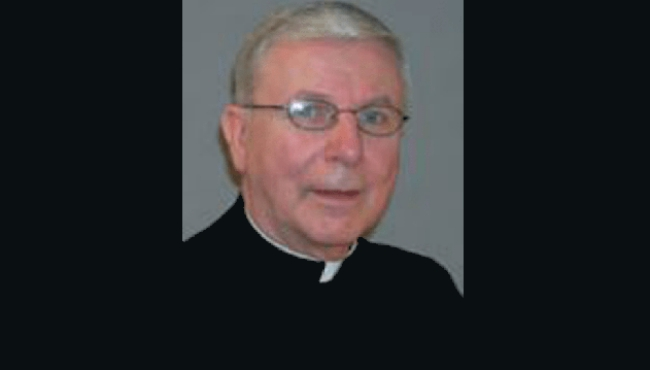 An undated photo of Rev. Richard Fritz.