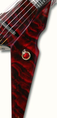 Deep Red Quilt Exotic Top