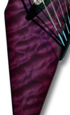 Purple Quilt Exotic Top - Mark Wood's original Viper