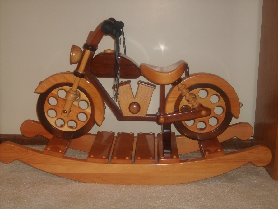 motorcycle rocking horse plans free