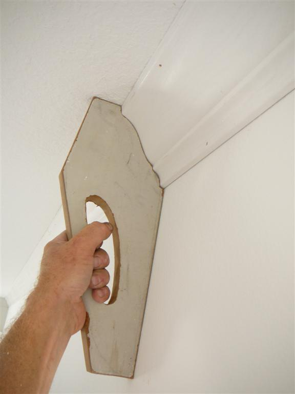Installing Three Piece Crown Moulding Solo
