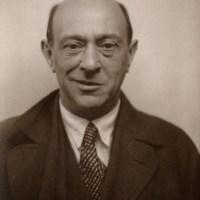Portrait of Arnold Schoenberg - Quintet, Op. 26
