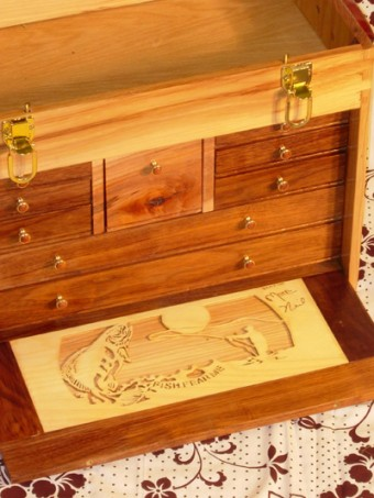 Fly Fishing Tackle Box Woodworking Blog Videos