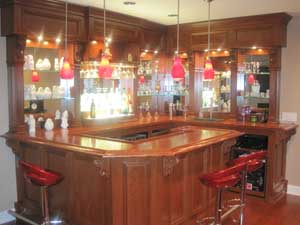 L Shaped Bar Woodworking Blog Videos Plans How To