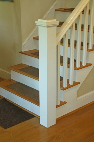 Anchoring A Newel Post Woodworking Blog Videos Plans How To | Installing Newel Post And Spindles | Stair Treads | Stair Railings | Stair Banister | Box Newel | Staircase