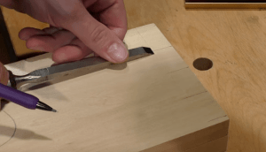 Dovetail Tails Width