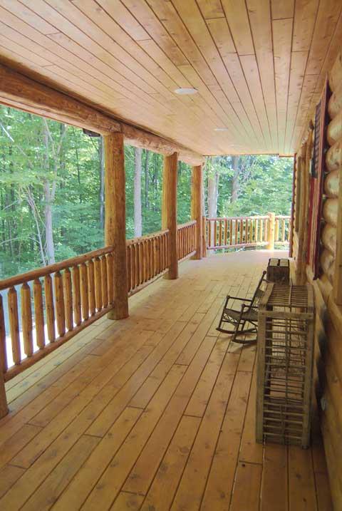 Exterior Porch Railing