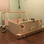 On The Joys Of Building A Jeep Shaped Kid S Bed Woodworkers Source Blog